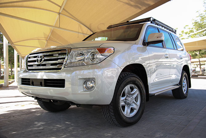 Armoured Toyota Land Cruiser VIP Luxury Rwanda