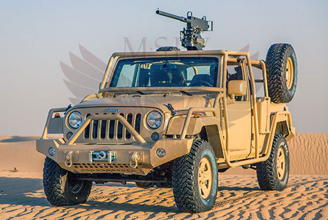 Light Patrol Vehicle Rwanda - Jeep Wrangler