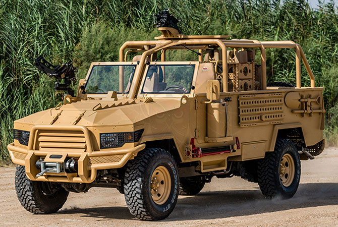 Light Patrol Vehicle Rwanda - lpv-t-mkII