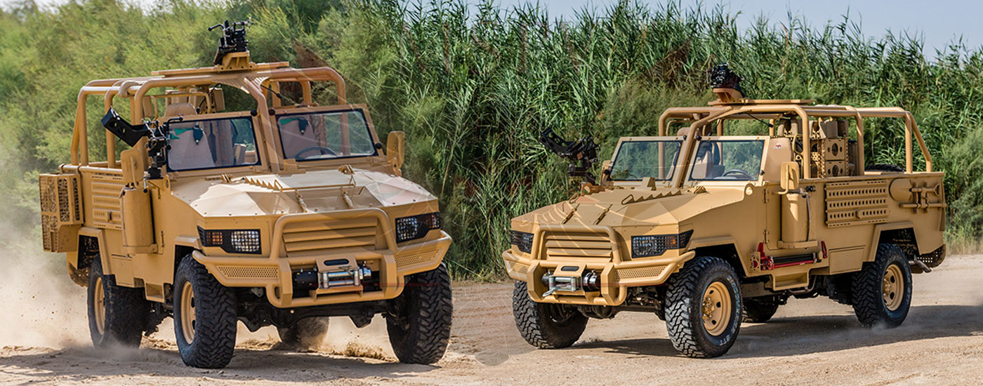 Armoured Light Patrol Vehicles Rwanda - LPV-T MKII